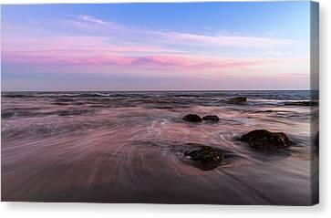 Sunset At The Atlantic Canvas Print
