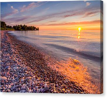 Sunset At The Loop  Canvas Print