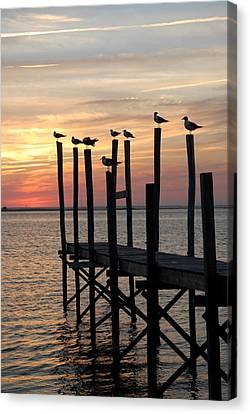 Sunset Bay 27 Canvas Print by Joyce StJames