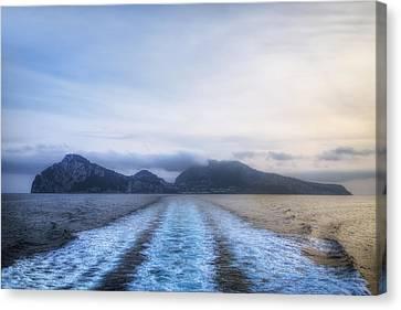 sunset Capri Canvas Print by Joana Kruse