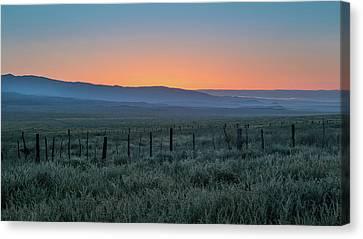 Sunset, Carrizo Plain Canvas Print by Joseph Smith
