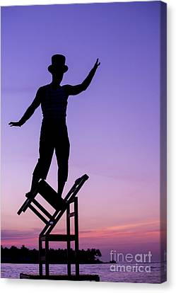 Balancing Act Canvas Print by Juli Scalzi