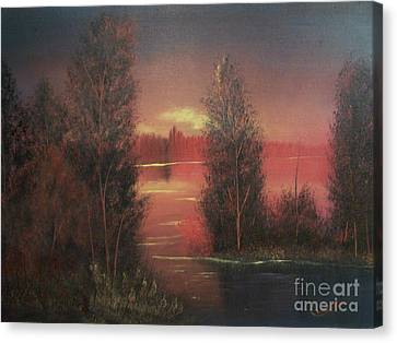Sunset Canvas Print by Chet Wheeler
