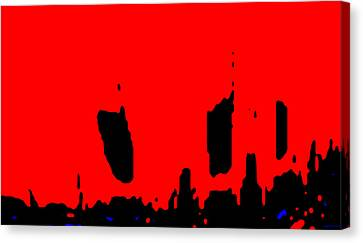 Aupre.com Arthouse Canvas Print - Sunset City by The Hari Rama