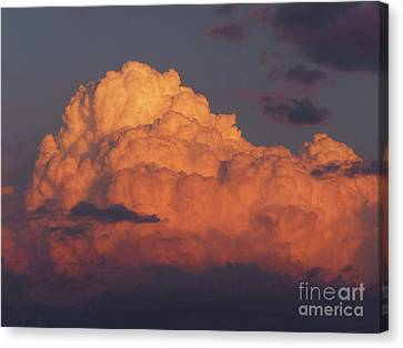 Sunset Cloud Canvas Print by Phil Banks