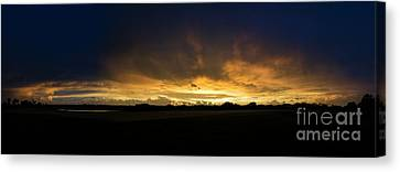 Sunset Clouds Canvas Print by Brian Jones