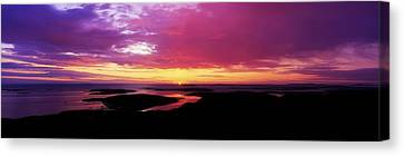 Morn Canvas Print - Sunset, Connemara, Co Galway, Ireland by The Irish Image Collection