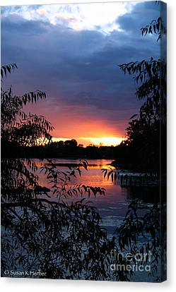 Sunset Cove Canvas Print