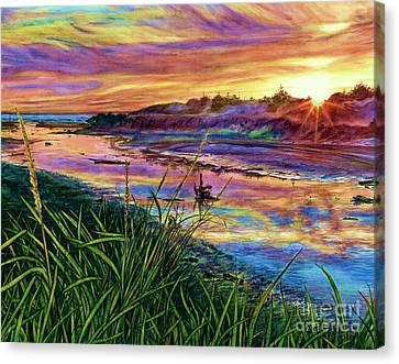 Sunset Creation Canvas Print
