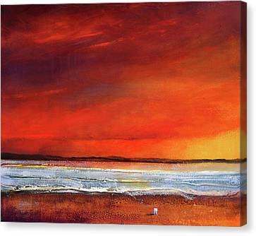 Sunset Dreamin Canvas Print by Toni Grote
