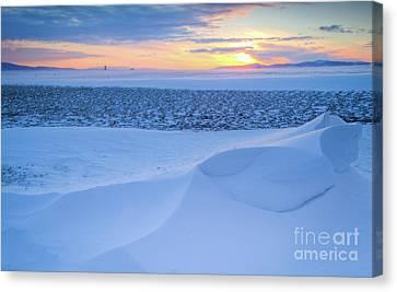 Sunset Drift Canvas Print by Idaho Scenic Images Linda Lantzy