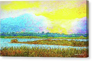 Sunset Ecstasy Canvas Print by Joel Bruce Wallach