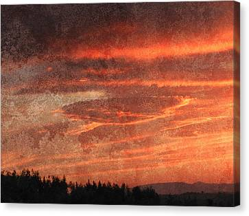 Sunset Event Canvas Print by Dorothy Berry-Lound