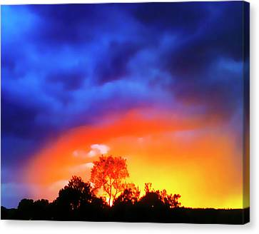 Sunset Extraordinaire Canvas Print