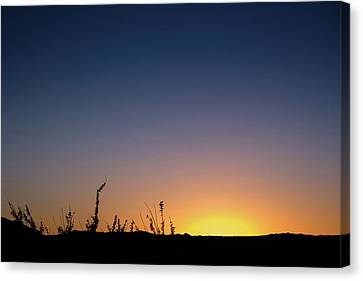 Sunset Fort Mohave Az Canvas Print