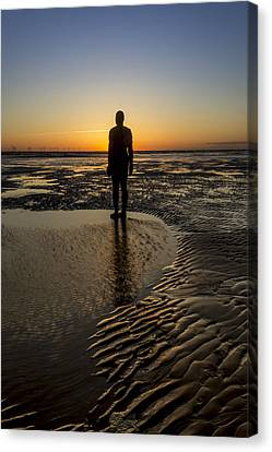 Sunset From Another Place Canvas Print