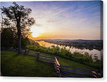 Sunset From Boreman Park Canvas Print