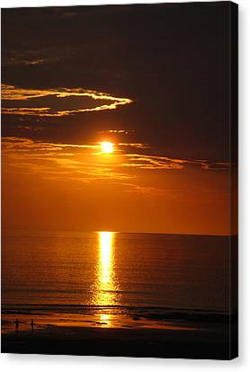 Sunset Glory Canvas Print by Kelly Jones