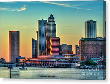 Sunset Glow Canvas Print by Marvin Spates