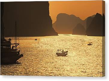 Sunset Ha Long Bay IIi Canvas Print
