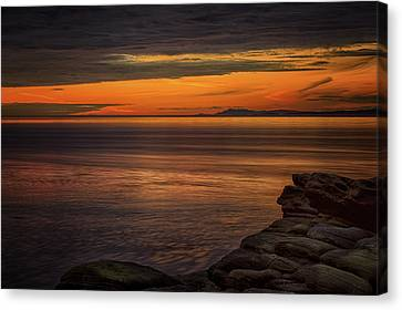 Sunset In May Canvas Print by Randy Hall