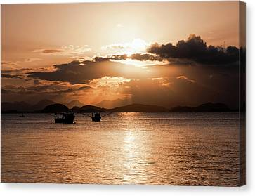 Sunset In Southern Brazil Canvas Print