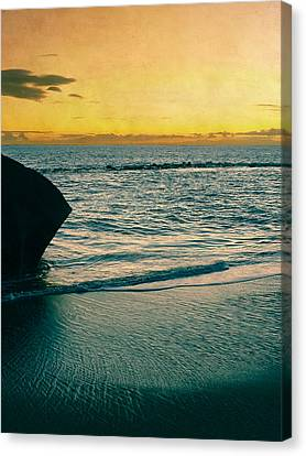 Sunset In Tenerife Canvas Print by Loriental Photography