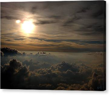 Sunset In The Sky Canvas Print