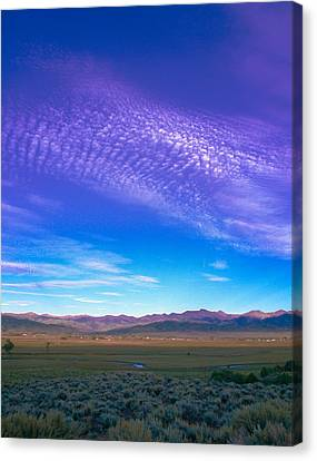 Sunset La Vega Costilla County Co Canvas Print by Troy Montemayor