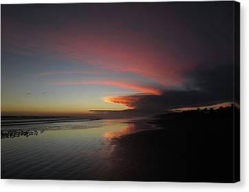 Sunset Las Lajas Canvas Print