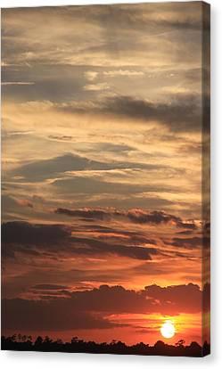 Canvas Print - Sunset Layers by AR Annahita