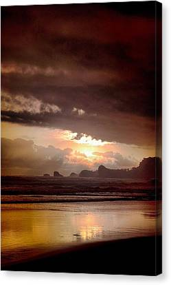 Sunset Canvas Print by Mario Bennet