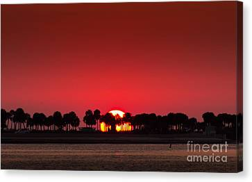 Sunset Canvas Print by Marvin Spates
