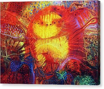 Sunset Mirage I Canvas Print by Lolita Bronzini