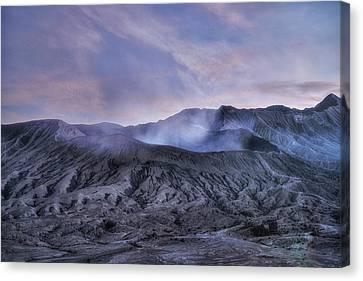 sunset Mount Bromo - Java Canvas Print by Joana Kruse