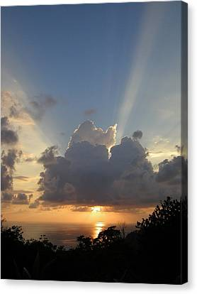 Sunset No.4 Canvas Print by Gregory Young