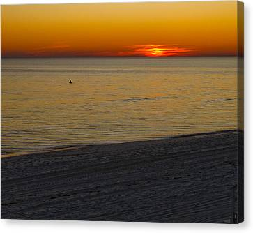 Sunset Number Thirty Seven Canvas Print by Sandwalker Photos