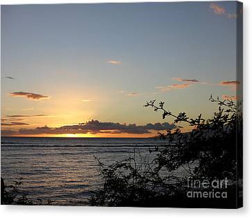 Sunset Off Lipoa Canvas Print