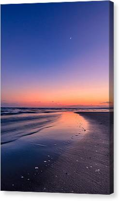 Sunset, Old Saybrook, Ct Canvas Print