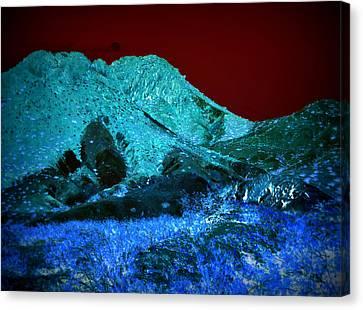 Sunset On Qo'nos Canvas Print