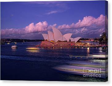 Sunset Opera By Kaye Menner Canvas Print by Kaye Menner