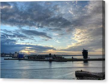 Sunset Over Aberdeen Canvas Print