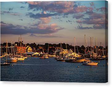 Sunset Over Newport Canvas Print