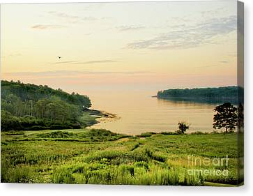 Sunset Over Penobscot Bay Canvas Print