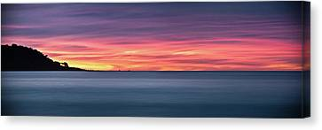 Sunset Penisular, Bunker Bay Canvas Print