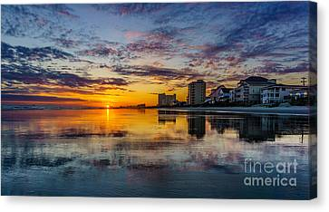Sunset Reflection Canvas Print