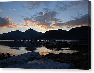 Sunset Reflections #1 Canvas Print