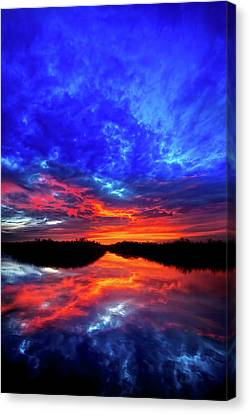 Sunset Reflections II Canvas Print