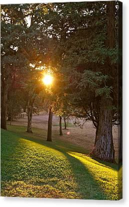 Sunset Retreat Canvas Print