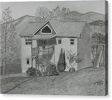 Sunset  Ridge  Canvas Print by Tony Clark